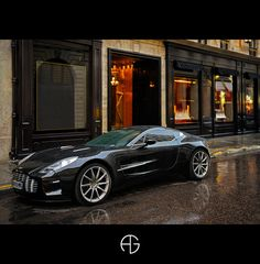 Aston Martin One-77, Paris, France