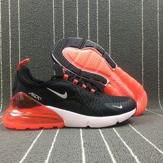 Adaptable Nike Air Max 270 Retro Black / White Red Men Casual Shoes ...   - Footwear -   # Air Max 270, White Basketball Shoes, Basketball Sneakers, Sports Shoes, Mens Nike Air, Nike Men, Nike Air Max, Shoes Sneakers, Nike Shoes
