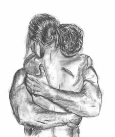 Wall Art Print / Charcoal Sketch / Couple Drawing / Couple Print / Naked / Nude Print / Charcoal Drawing / Black and White / Home Decor Dark Art Drawings, Pencil Art Drawings, Art Drawings Sketches, Contour Drawings, Hipster Drawings, Easy Drawings, Charcoal Sketch, Charcoal Art, Charcoal Drawings