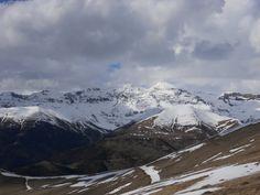 Sierra y pico Tendeñera (2853 metros) desde Pelopín (2005 metros)