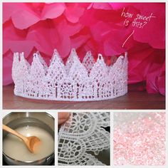 @Colleen Occhiogrosso -DIY tiara, so you can get JUST the right color, size and look for your Birthday Ballerina!
