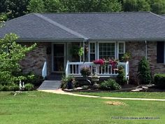 Genial Example Of Wheelchair Ramp On A Ranch Home Porch With Ramp, House Porch,  House
