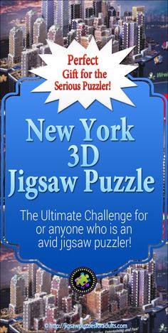 This 3141 piece New York Puzzle by Puzz is the Ultimate Challenge for anyone who is an avid jigsaw puzzler.The New York City Skyline can be enjoyed while working on this amazing jigsaw puzzle and would look amazing displayed! Difficult Jigsaw Puzzles, 3d Jigsaw Puzzles, Hobbies For Couples, Hobbies And Interests, Hobby Photography, Software Development, Playground, 3 D, New York