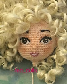 590 отметок «Нравится», 34 комментариев — feri-dolls (@feri_dolls) в Instagram Crochet Eyes, Crochet Baby, Knitted Dolls, Crochet Dolls, Amigurumi Patterns, Amigurumi Doll, Crochet Doll Pattern, Crochet Patterns, Doll Eyes