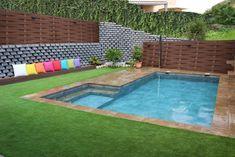 Galería de Imágenes - Piscinas OSCER Piscina Rectangular, Small Pool Design, Mini Pool, Porche, Interior Exterior, Pool Designs, Ideas Para, Swimming Pools, Madrid
