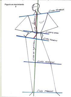 Figurín en movimiento 2