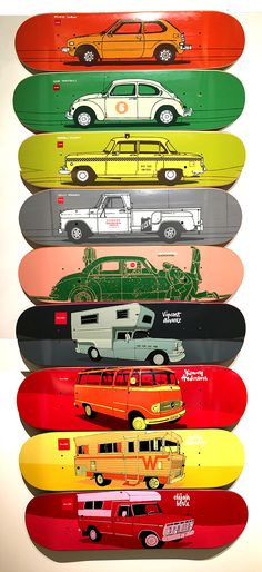 Chocolate Skateboards Car Decks #evanhecox