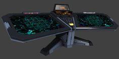 sci fi computer terminal - www.3david.com, 02/2016