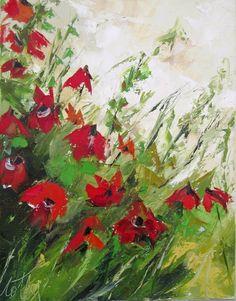 Peinture florale huile au couteau : Morceaux Choisis !!!!! : Peintures par les-reves-de-minsy