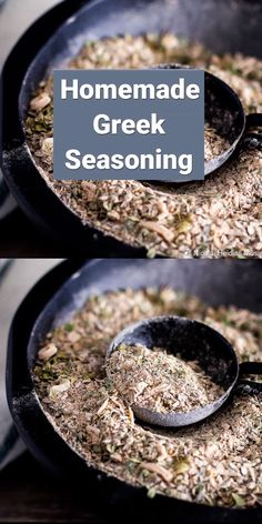 Want a new spice mix to dress up your chicken or steak? Try this Homemade Greek Seasoning Mix you can make at home! Want a new spice mix to dress up your chicken or steak? Try this Homemade Greek Seasoning Mix you can make at home! Homemade Dry Mixes, Homemade Spice Blends, Homemade Spices, Homemade Seasonings, Spice Mixes, Cavenders Greek Seasoning, Pesto, Mediterranean Seasoning, Greek Spices