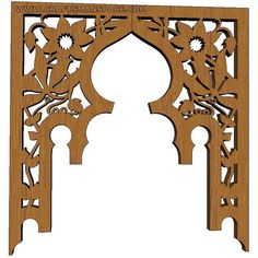 scroll saw patterns free | Scroll saw arch piece of tea table 1