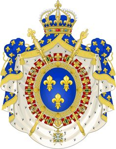 Ficheiro:Coat of Arms of the Bourbon Restoration – Wikipédia, a enciclopédia livre Bourbon, Third Republic, First French Empire, Friedrich Ii, Medieval, Maximilian I, French Royalty, French History, Casa Real