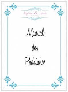 Arte do convite + manual dos padrinhos!! 2
