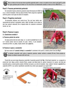Cum se construieste un gratar din caramida? Bbq Grill Diy, Outdoor Barbeque, Brick Bbq, Brick Construction, Garden, Photos, House, Brick Built Bbq, Garten