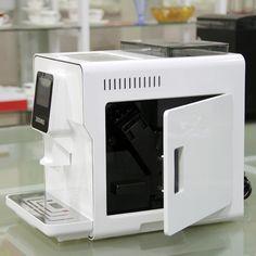 1.7L Fully Automatic Coffee Maker Touch Screen Cappucinno Latte Espresso Coffee Cafe Machine