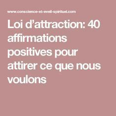 Reiki - Loi d'attraction: 40 affirmations positives pour attirer ce que nous voulons Plus - Amazing Secret Discovered by Middle-Aged Construction Worker Releases Healing Energy Through The Palm of His Hands. Cures Diseases and Ailments Just By Touching Positive Mind, Positive Attitude, Positive Things, Positive Vibes, Chakras Reiki, Japanese Diet, Affirmations Positives, Meditation, Energie Positive