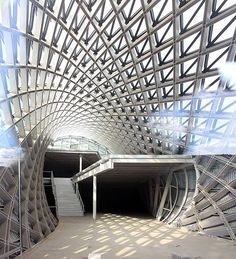 fuksas reveals images of its music theater and exhibition hall in tbilisi's…