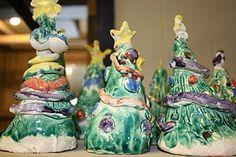 Clay Christmas Trees!