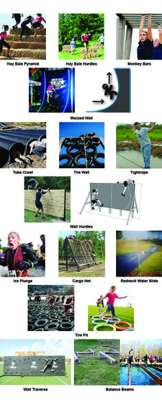 obstacle ideas for obstacle course/race