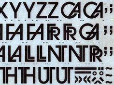 Vintage letraset6