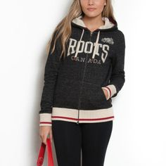 This hoody is soft and cuddly, and loving the cabin sock trim! Roots Clothing, Camping Outfits, Hoodie Outfit, Winter Outfits, Winter Clothes, Full Zip Hoodie, Hoodies, Hoodie Sweatshirts, Hoodie