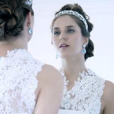 Momento muito princess! Editorial top com fotos @lramos79 Beleza @eduardomakehair jóias @rosanachinche modelo @maionz #noiva#vestidodenoiva#...