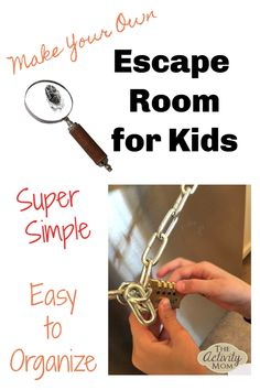 Make Your Own Escape Room Challenge for Kids &; The Activity Mom Make Your Own Escape Room Challenge for Kids &; The Activity Mom Sanne mags sannemags Spielideen Make Your Own Escape […] escape room Escape Room Diy, Escape Room For Kids, Escape Room Puzzles, Kids Room, Escape Puzzle, Room Escape Games, Camping Ideas, Diy For Kids, Cool Kids