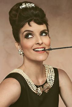 Tina Fey--I just love her. I think I might have a girl crush on her. Seriously.