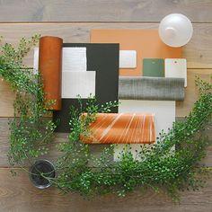 Copper Green Materials Flat Lay Mood Board #customiseyourlights #moodboard #flatlay #materials #finishes #interiordesign Australian Lighting, Outdoor Furniture Sets, Outdoor Decor, Mood Boards, Lighting Design, Pendant Lighting, Green Materials, Modern, Bedroom Inspiration