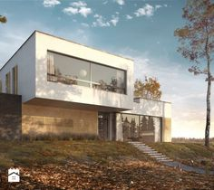 Kurs - 3ds Max - Vray - Wizualizacja domu jednorodzinnego - 3 pory roku - zdjęcie od CGwisdom.pl