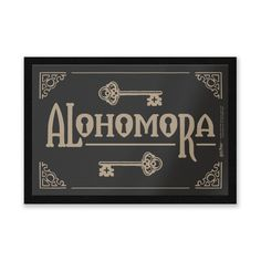 Buy Harry Potter Alohomora Entrance Mat from Zavvi, the home of pop culture. Take advantage of great prices on Blu-ray, merchandise, games, clothing and more! Harry Potter Bathroom, Harry Potter Room, Harry Potter Characters, Harry Potter World, Harry Potter Hogwarts Letter, Hogwarts Crest, Ravenclaw, Harry Potter Review, Katie Bell