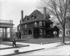Bedford House, New Bedford, Victorian Photos, Vintage Photos, Far Away, Old And New, Massachusetts, Whale, Buildings