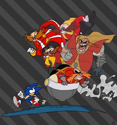 Thanks to the awesome generosity of The Sonic Show, I got to make artwork for their appearance this year at Summer of Sonic The general them. Sonic Show Art: Robotnik/Eggman! Sonic The Hedgehog, Hedgehog Art, Shadow The Hedgehog, Game Sonic, Sonic Fan Art, Sonic Boom, Geeks, Sonic Funny, Arte Nerd