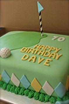 Golf Theme Cake Dad Birthday Cakes, 60th Birthday Party, Cakes For Men, Guy Cakes, Golf Themed Cakes, Sport Cakes, Pretty Cakes, Amazing Cakes, Cupcake Cakes