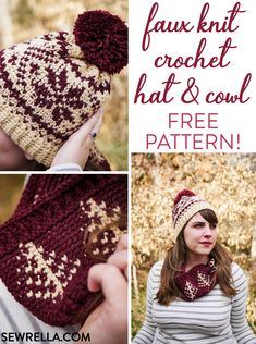 Exceptional Stitches Make a Crochet Hat Ideas. Extraordinary Stitches Make a Crochet Hat Ideas. Crochet Adult Hat, Bonnet Crochet, Crochet Beanie Hat, Crochet Motifs, Beanie Pattern, Easy Crochet, Free Crochet, Knitted Hats, Knit Crochet