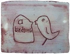 birdsong 4 by Stefanie Neumann over Galerie Kruse http://galeriekruse.bigcartel.com