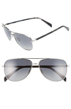 SALT 'Rex' 60mm Polarized Sunglasses
