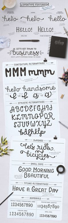 Avaline Script Family + BONUS Extras: Avaline is a super smart script font that was 100% handmade. It's playful letterforms come in Light, Regular, Bold and one bonus style: Avaline Sketch. Each font has over 2,000 characters with loads of language support and a massive set of fun alternatives.