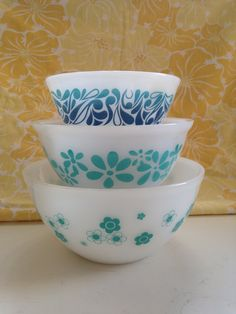 My fave Agee Pyrex Frankenset :)