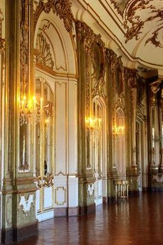 Queluz Palace | Style Check #palace #gold #portugal #photography