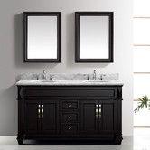 "Found it at Wayfair - Victoria 61"" Double Bathroom Vanity Set with Mirror"