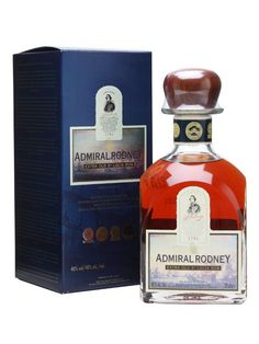 A multi-award-winning rum from St. Lucia, Admiral Rodney is distilled from molasses in column stills, is aged an average of 12 years before bottling and has always been extremely popular with our c...