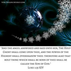 Luke 1:35 KJV