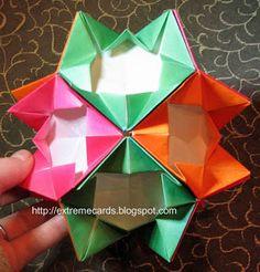 modular origami com instruções                                                                                                                                                                                 Mais