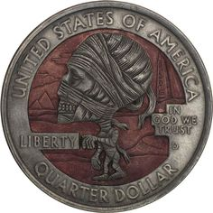 Hobo Nickels – Amazing sculpted coins by Paolo Curcio