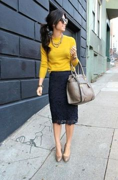 Eyelet Skirt Outfit