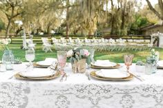 Vintage Backyard Wedding Plant City Florida