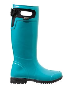 Look at these stylish Bogs Brand Tacoma Rain Boot in a Gorgeous shade of Teal on #zulily today!