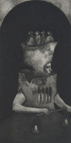 Kouki Tsuritani Judgment, 2003 Mezzotinta