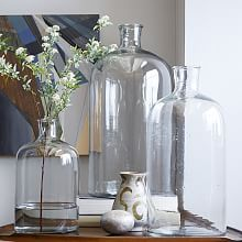 """Oversized Apothecary Bottles - Botanical Glass Vases and Ceramics 